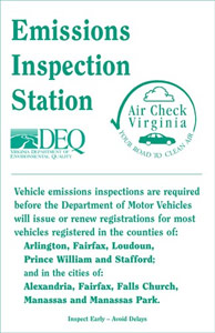 VA State Inspection in Ashburn, VA