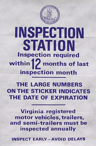 VA State Inspection in Sterling, VA